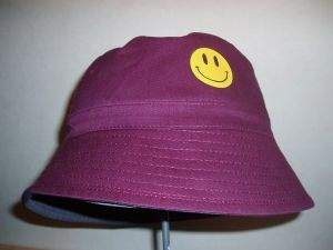 SMILEY FACE, ACID HOUSE, FESTIVAL BUCKET HAT, 4 COLOURS